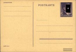 Generalgouvernement P13 Amtliche Postkarte Ungebraucht 1944 Hitler - Besetzungen 1938-45