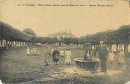 VARENNES PLACE VERTEN PLANTEE PAR LES ALLIES ANCIEN CHATEAU FEODAL 55 - France