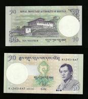 Bhutan - 10 Ngultrum - FDS Unc Pick. 29 - Bhutan