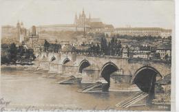 AK 0037  Praha - Hradcany A Karluv Most Um 1925 - Tschechische Republik