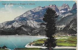 AK 0037  Lago Di Molveno E Gruppo Di Brenta Um 1912 - Trento