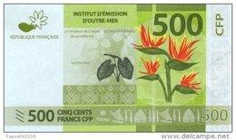 Polynésie Française - 500 FCFP - 2014 - 060025 F8 / Signatures Noyer-de Seze-La Cognata - Neuf  / Jamais Circulé - Papeete (Polynésie Française 1914-1985)