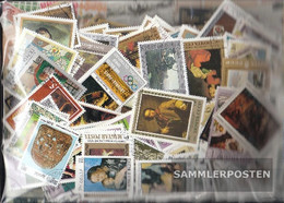 Motives 750 Different Paintings Stamps - Stamps