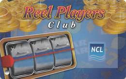 Norwegian Cruise Line - Reel Players Club Card - Casino Cards