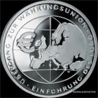 FRD (FR.Germany) Jägernr: 490 2002 F Stgl./unzirkuliert Silver Stgl./unzirkuliert 2002 10 Euro European Monetary Union - Germany