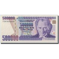 Billet, Turquie, 500,000 Lira, L.1970, 1970-01-14, KM:208, NEUF - Turquie