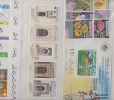 Libya 150 Different Stamps Unmounted Mint / Never Hinged In Complete Expenditure - Libya