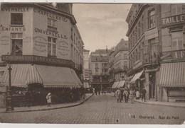 Charleroi.  Rue Du Pont. Petite Coupure Sur Le Haut De La Carte.--scan-- - Charleroi