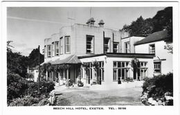 Exeter Beech Hill Hotel Unused RP 1970s (Jerome Dessain) [P0062/1D] - Exeter