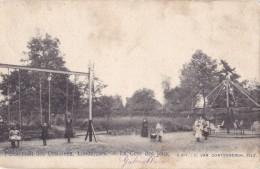 Pensionnat Des Ursulines Londerzeel La Cour Des Jeux Circulée En 1902 - Londerzeel