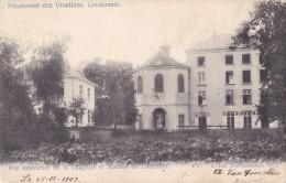 Pensionnat Des Ursulines Londerzeel Vue Extérieure De La Chapelle Et Maison Du Directeur Circulée En 1902 - Londerzeel