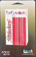 Telefonkarte Fiji - Fidschi - Werbung - Funflavour - 08FFA - Fiji