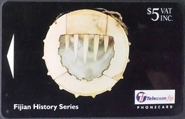 Telefonkarte Fiji - Fidschi - Historical Artifacts - 23FJC - Fiji