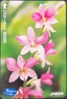Prepaidcard Japan -  Orchidee (2) - Japan