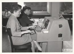 TIRAGE DE LA LOTERIE COLONIALE   -  27 AVRIL 1959  -  MECANOGRAPHIE - Other Collections
