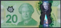 Canada 20 Dollars 2012 UNC P- 108b Polymer < Signatures: Wilkins & Stephen Poloz > - Canada