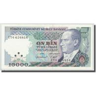 Billet, Turquie, 10,000 Lira, L.1970, 1970-01-14, KM:199, NEUF - Turquie