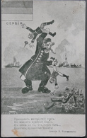 Balkanska Vojna. Anti Turkish Caricature, 1912, Balkan Wars, Turkey - Humoristiques