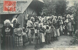 38 SAINT COLOMBAN LES VILLARDS  Groupe D'habitants    2scans - France