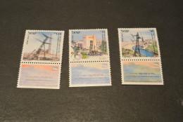 K15953 -  Set MNH Israel  1991  SC. 1084-1086 -  Electrification - Israel