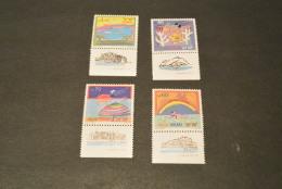 K15954 -  Set MNH Israel  1989  SC. 1007-1010 - Nat. Tourism - Israel