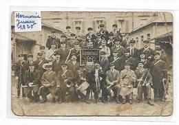 70 - Carte-photo De L' Harmonie De Jussey - 1925 - France