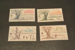 K16033 -set  MNh - Ceskoslovensko  - Czechoslovakia - 1964 - SC. 1225-1228 - Tourism - Czechoslovakia