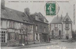 CPA De LISIEUX Et ENVIRONS - Le Breuil En Auge Route De Lisieux - Lisieux