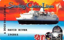 Sterling Casino Lines Ambassador Club VIP Card - Cape Canaveral, FL Casino Cruise Ships - Casino Cards