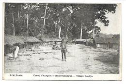 CONGO FRANCAIS - Haut Oubangui - Village Bondjo - Congo Français - Autres