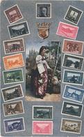 Philatelie Litho AK Bosnien Herzegowina Bosna Bosnie Bosnia Hercegovina Herzegovine Briefmarke Stamp Timbre Kaiser K U K - Bosnien-Herzegowina