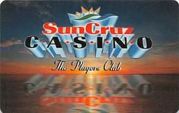 SunCruz - Casino Cruise Ship From Florida - Slot Card - Orange Sunset & Cardusa.com HTD/HTE - Casino Cards