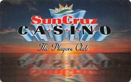 SunCruz - Casino Cruise Ship From Florida - Slot Card - Orange Sunset & Cardusa.com JFS/JFT - Casino Cards