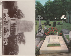 The Guards Memorial St James Park Winston Churchill Grave 2x Postcard S - Militaria