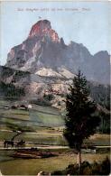 Sass Songher Von Corvara, Tirol (7608) * Feldpost 10. X. 1914 - Italia