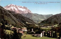 Piccolein U. St. Martin I. Thurn Im Gadertale Mit Zehner U. Hl. Kreuzkofl (534) * 19. 8. 1913 - Italia