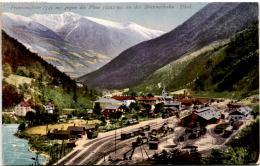 Franzensfeste Gegen Die Plose An Der Brennerbahn, Tirol (13707) * 23. 3. 1918 - Italien