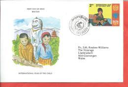 Bhutan Stamps. 1979 International Year Of The Child FDC (A530) - Bhutan