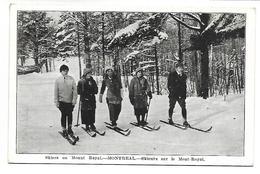MONTREAL - Skieurs Sur Le Mont-Royal - Montreal