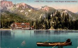 Tirol - Pragsertal - Hotel Pragser Wildsee (5188) * 5. 7. 1913 - Unclassified