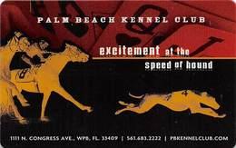 Palm Beach Kennel Club - Palm Beach FL - Slot Card - Casino Cards