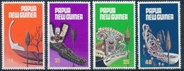 364-367 Papua Neuguinea - Kanubugverzierungen - Postfrisch/** - Papouasie-Nouvelle-Guinée
