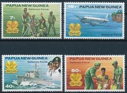 409-412 Papua Neuguinea - Verteidigungskräfte - Postfrisch/** - Papouasie-Nouvelle-Guinée
