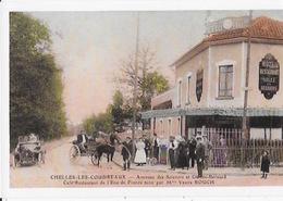 CPA  De CHELLES-LES-COUDREAUX  RESTAURANTde L'écu - Chelles