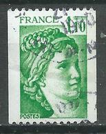 France YT N°2062a Sabine (Roulette Numéro Rouge) Oblitéré ° (Voir Description) - Gebraucht