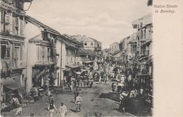 AK Bombay Mumbai मुंबई Native Streets Maharashtra महाराष्ट्र Britisch Indien British India Inde Indie भारत गणराज्य - India