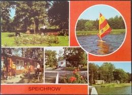 Ak DDR - Speichrow - Ortsansichten - Schwielowsee