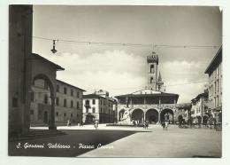 S.GIOVANNI VALDARNO - PIAZZA CAVOUR  VIAGGIATA FG - Arezzo
