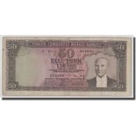 Billet, Turquie, 50 Lira, L.1930, 1951-12-01, KM:162a, B+ - Turquie