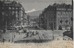 CPA - Suisse - Genève - La Rue Du Mont-Blanc (écrit En 1903) - GE Genève